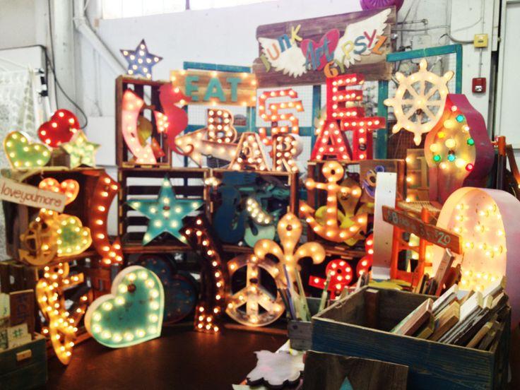 junk art gypsyz - Craft fair display ideas - dear handmade life