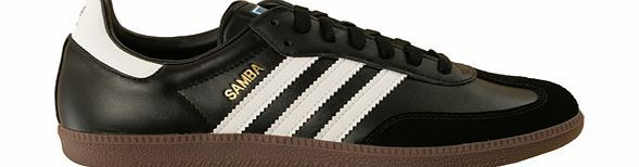 Adidas Samba Black/White Leather Trainers Adidas Samba Black/White Leather TrainersColourway