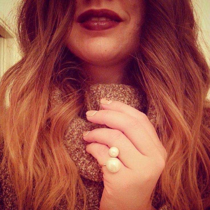 Chic & Fabulous A: Hairie & dark lips