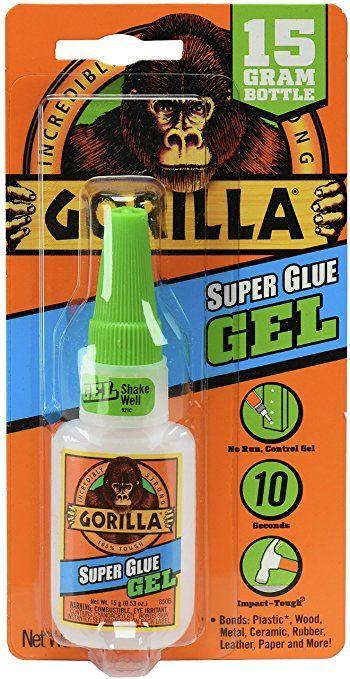 Gorilla Super Glue Gel, 15 g