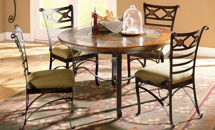 iron dining table sets dining room design pinterest dining