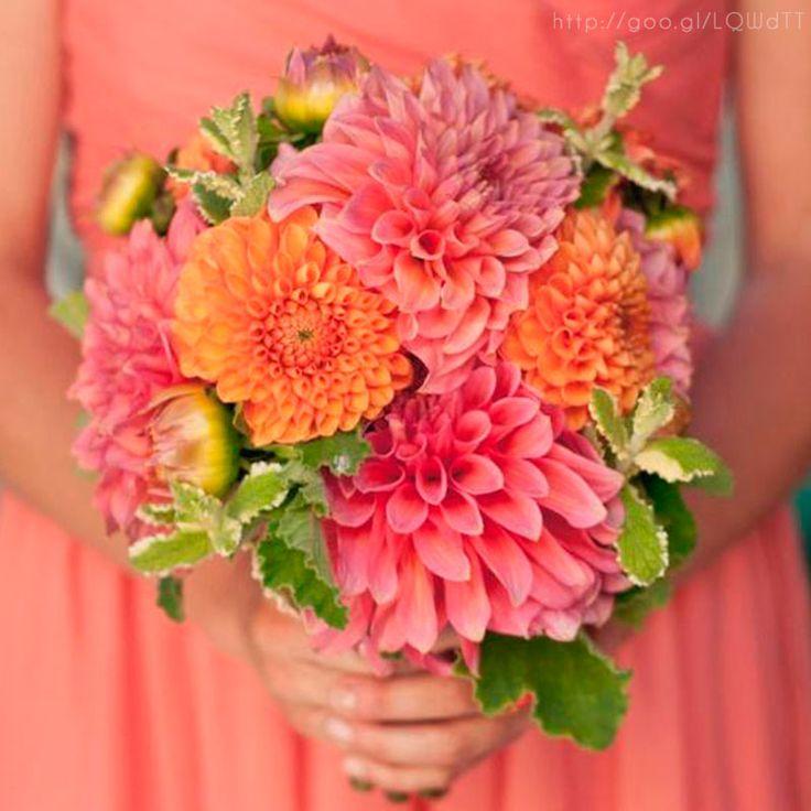 Damas de honor en color #cayenne #Bridesmaids #dress #Wedding #YUCATANLOVE
