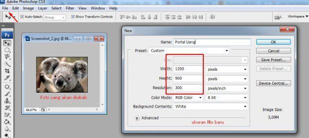 Cara Memperbesar Resolusi Foto Agar Tidak Pecah Di Laptop Dan Android Resolusi Photoshop Windows