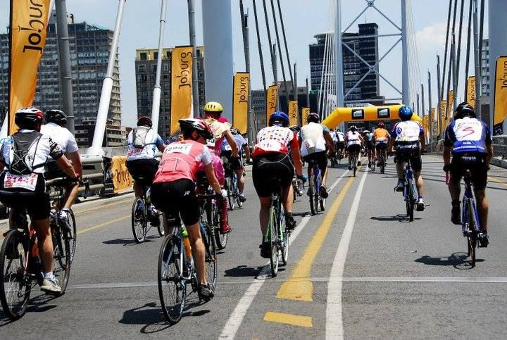 Participate or ride for a purpose in the Momentum 94.7 Cycle Challenge. Take to the streets of Joburg in the world's second largest mass participation cycling event!!
