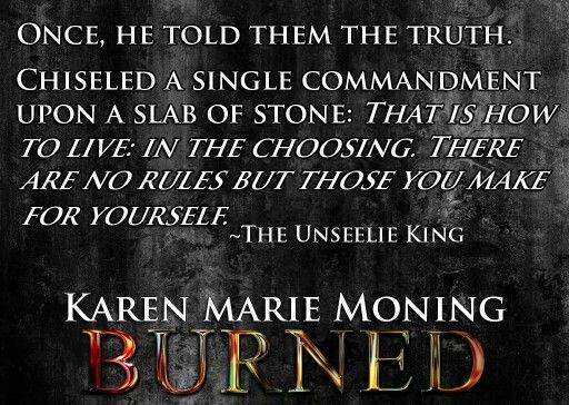 Burned Unseelie King