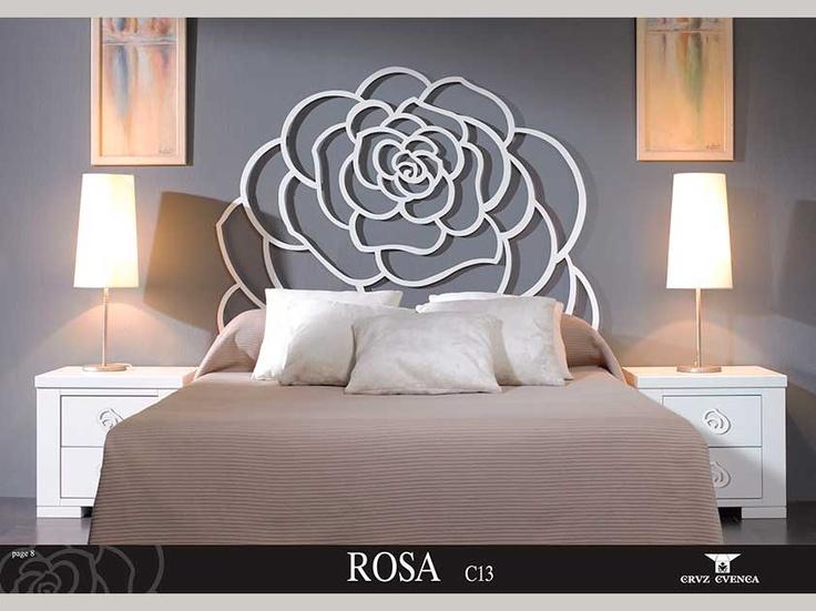 Composici n rosa de muebles auxiliares de hierro forjado - Muebles de hierro ...