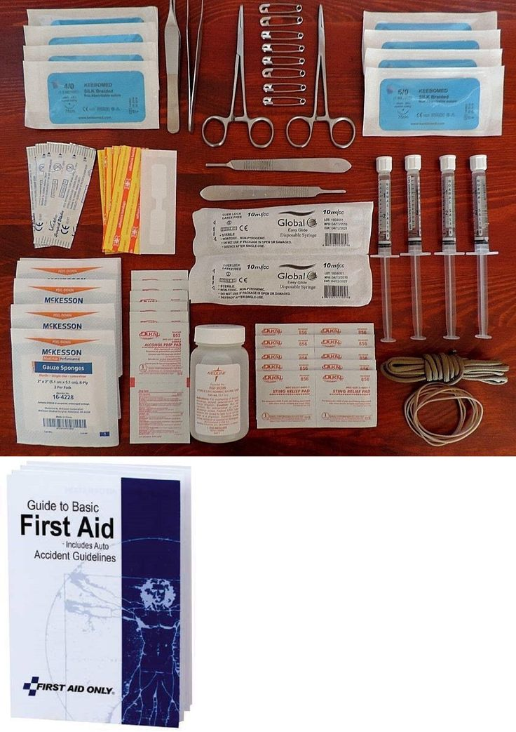 Kits and Bags: Surgical Suture Kit Saline First Aid Tactical Suture Minor Surgery Suture Pack -> BUY IT NOW ONLY: $37.99 on eBay!