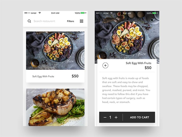 "Hello mates!  I would like to show you a new food application concept for iOS.   If you like it, show some love by pressing ""L"". If you have any feedback on your mind, drop them in comment box.  ch..."