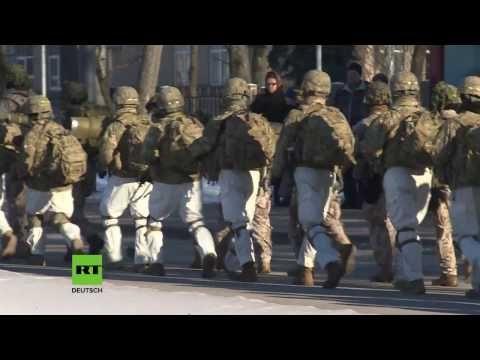 """US-Truppen marschieren nahe der russischen Grenzen zur """"Rückversicherung ihrer Verbündeten"""" — RT Deutsch"""