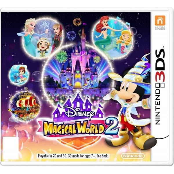 Disney Magical World 2 3DS Game | http://gamesactions.com shares #new #latest #videogames #games for #pc #psp #ps3 #wii #xbox #nintendo #3ds