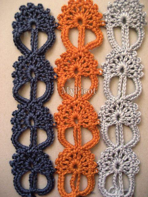 MyPicot Club   Crochet y Tejido de punto Tutorial  ✿Teresa Restegui http://www.pinterest.com/teretegui/✿