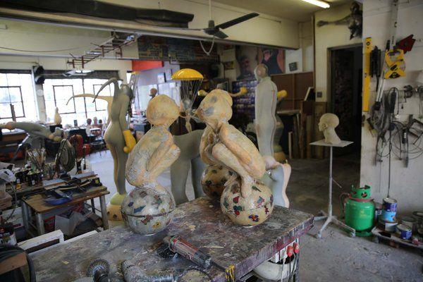 Stefan Blom | Art Studio Starting new work
