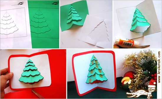 Pop-up Christmas Card how-to