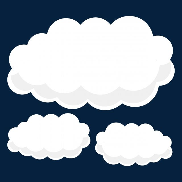 Clouds Sky Border Cartoon Clouds Sky Png And Vector With Transparent Background For Free Download Cloud Stickers Thought Cloud Cartoon Clouds