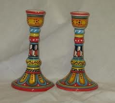 painted candlesticks - Google Search