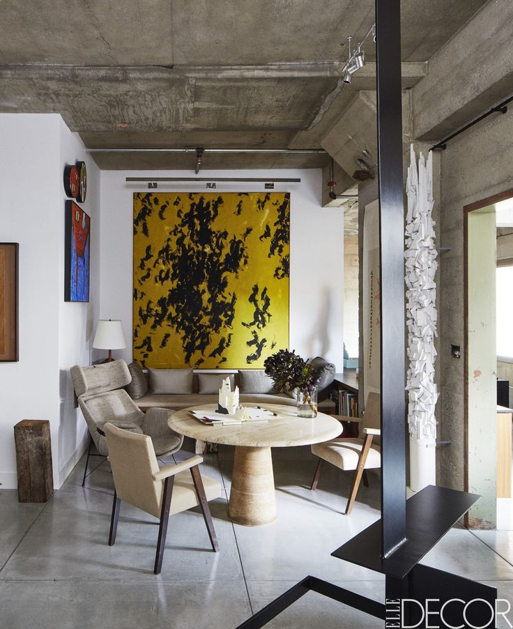 House tour a raw and refined loft in san francisco