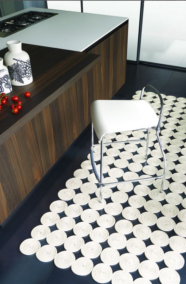 MARTINICA Solid-color rectangular #rug by Besana Moquette