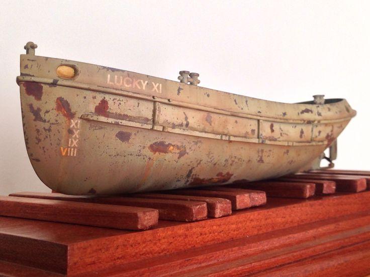 Revell Tug Boat in progress.
