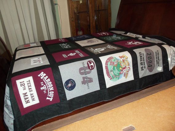 Custom College Campus Queen Size Tshirt Memory by sunshineofautumn, $400.00: Quilts Inspiration, Memory Quilts, Campus Queen, Colleges Quilts, College Quilts, Quilts Colleges, Colleges Campus, Custom Colleges, Memories Quilts