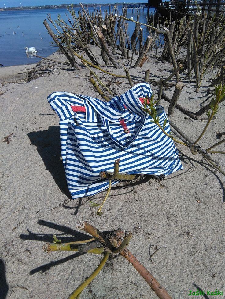 Marine handmade bag