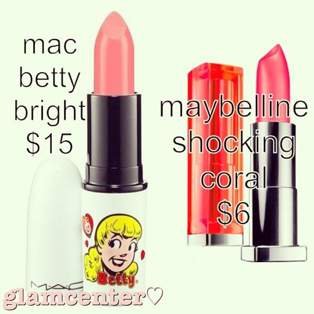 #dupe #dupes #dupeoftheday #macdupe #makeupdupe #makeupdupes - @glamcenter- #webstagram