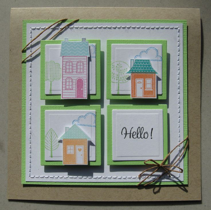 Good Neighbours Stampin up! Home made card by www.biancahobbyhoek.nl