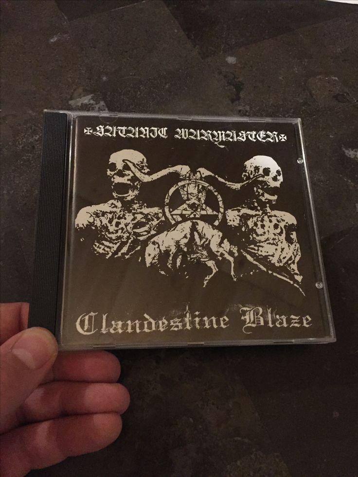 Satanic Warmaster / Clandestine Blaze - Split  Released by Northern Heritage
