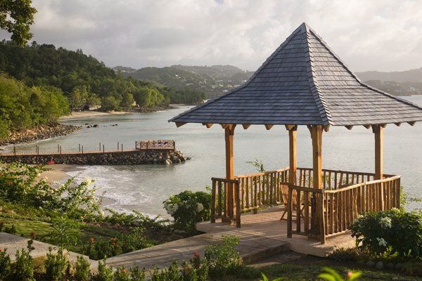 GIVING WINTER THE COLD SHOULDER IN ST. LUCIA