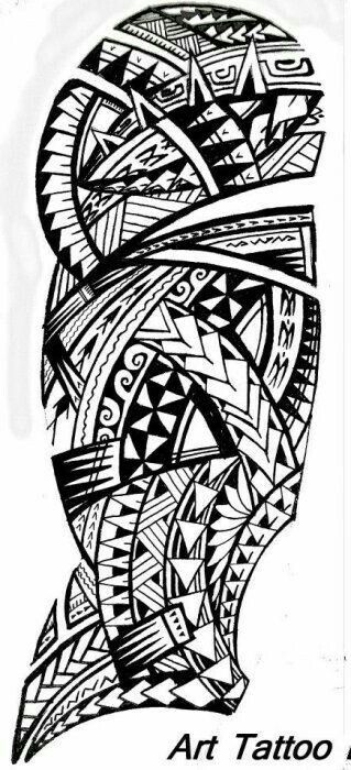 Polynesian Tattoo Tattoos Pinterest