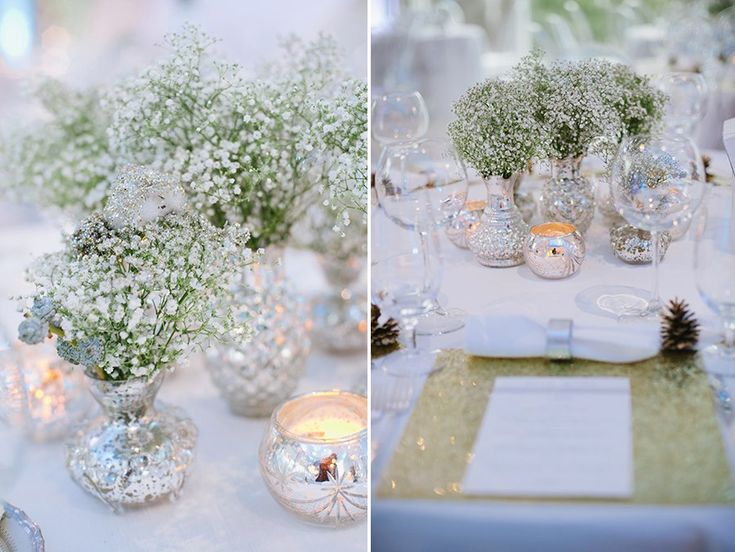 Silver and Gold Winter Wedding | photo by http://dixiepixelphoto.com | see more http://www.thebridelink.com/blog/2013/04/17/silver-and-gold-winter-wedding/