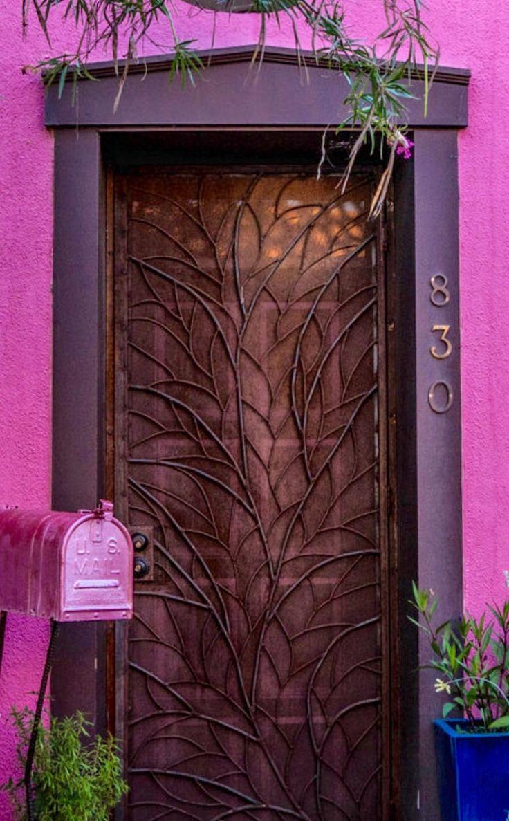 Tucson Arizona Doors Portes Puertas T Ren Pinterest Doors And Gates