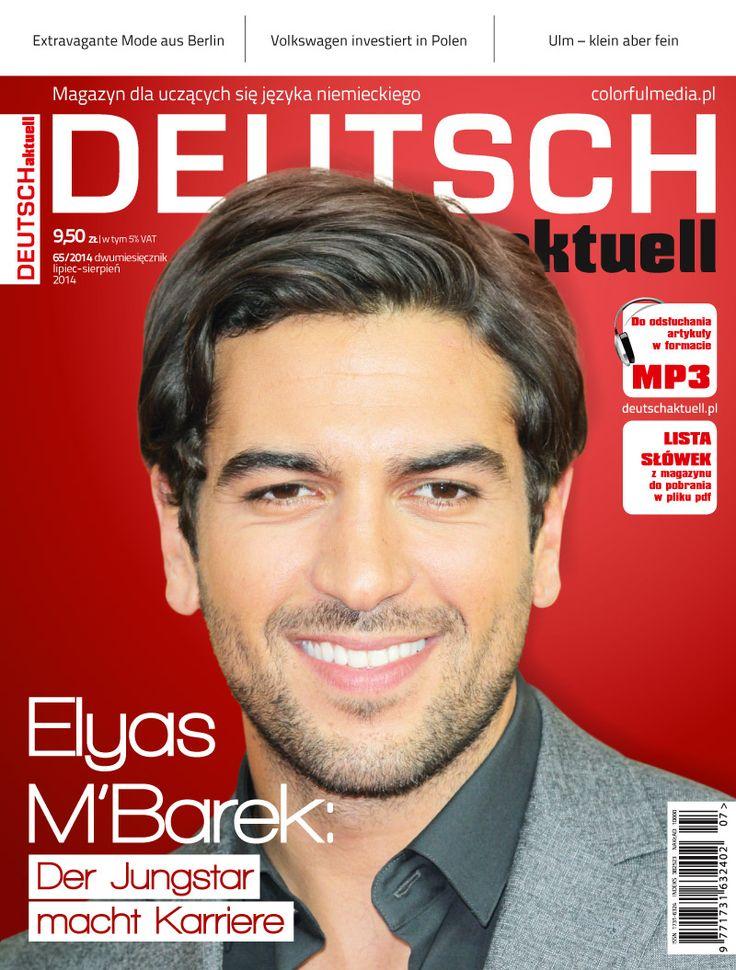 Deutsch Aktuell magazyn dla fanów języka niemieckiego. na okładce Elyas M'Barek