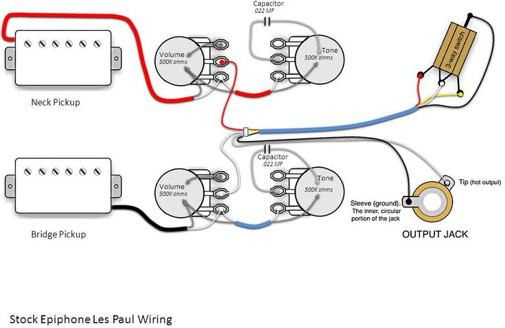 Les Paul Output Jack Wiring Wiring Diagram