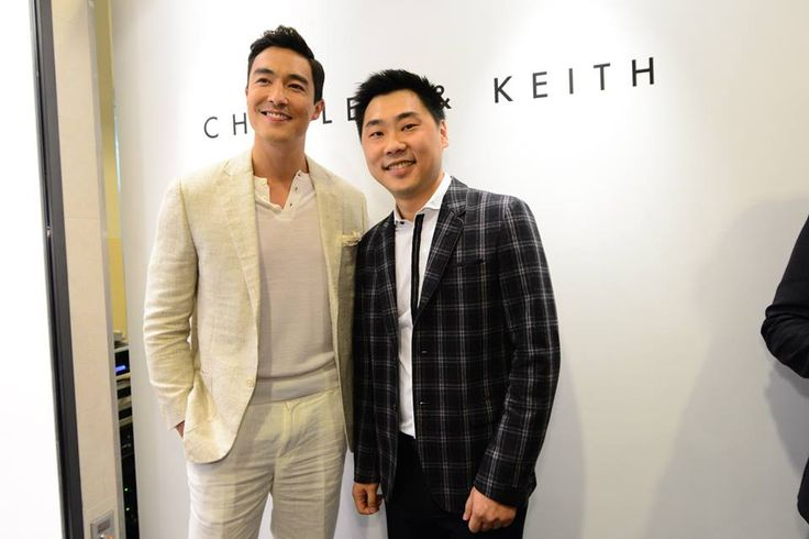 SPOTTED: #DanielHenney at #CharlesKeithNAC eventVisit your nearest store or charleskeith.com