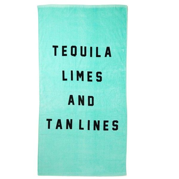 LIFES A BEACH TOWEL ($17) ❤ liked on Polyvore featuring home, bed & bath, bath, beach towels, stripe beach towel, cotton beach towel, striped beach towels and tie dye beach towel