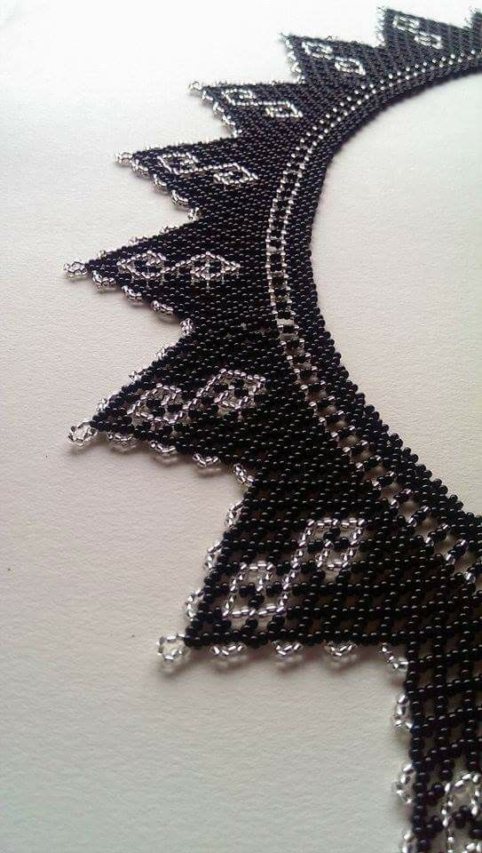 Beaded Necklace....maybe change the color with my fav..