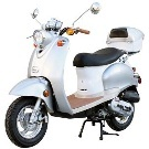 Moped scooter, 50cc 4 Stroke Znen Moped Euro Gas Motor Scooters ScooterDepot.Us