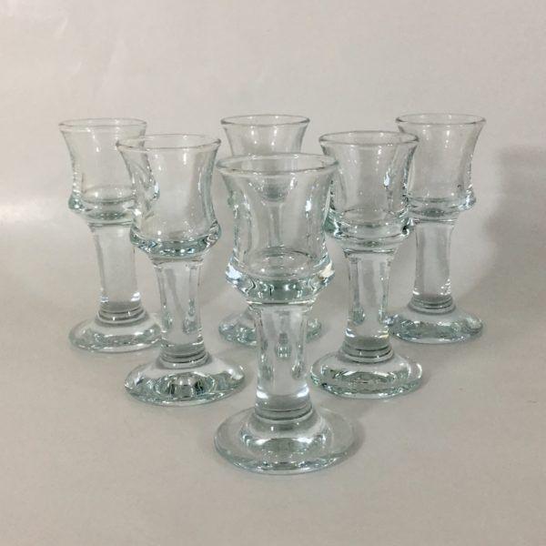 Holmegaard / Per Lukten schnapps / shot glasses