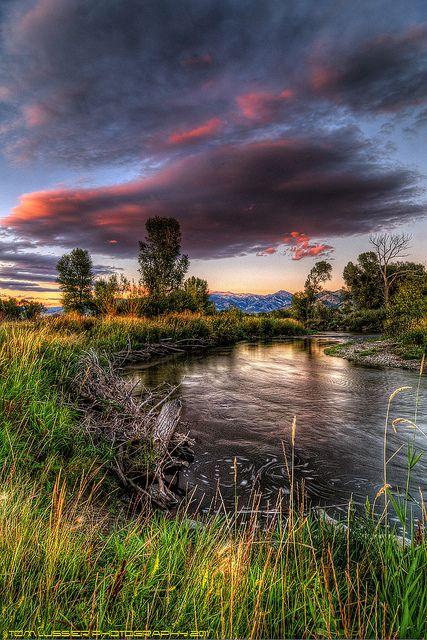 East Gallatin River, Bozeman, Montana; photo by Tom Lussier