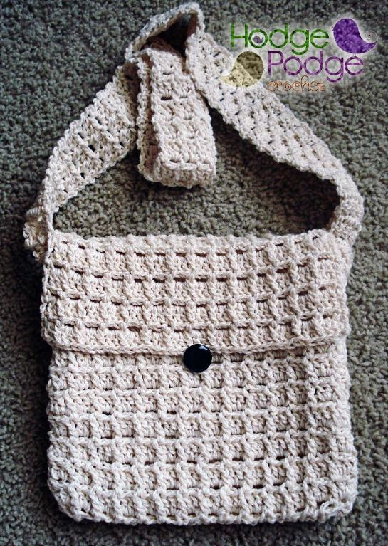 Stacked Shells Purse: PDF pattern