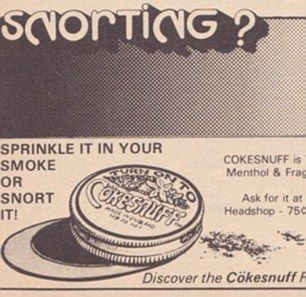 Adverts from 1970s US magazines for cocaine have been unearthed. The images show how cocaine was glamourised and includes companies such as Sno-Blo and The Blue Lady.