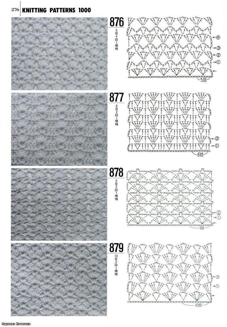 Mejores 155 imágenes de Free Crochet Stitches en Pinterest ...