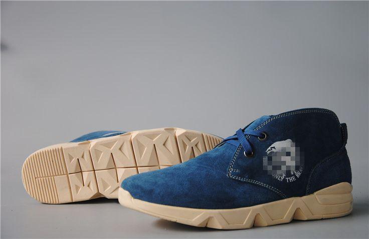 Ди S в области внешней торговли, чтобы помочь британский стиль мягкой нескользящей резиновой нижней очередь меховые мужской улицы на открытом воздухе досуг обувь прилив обувь - Taobao