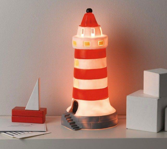 Креативная декоративная лампа в интерьере детской комнаты