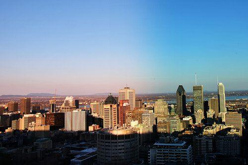 Mont Royal's Shadow / Mont Royal / Montréal / Québec / Canada