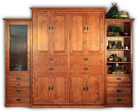 American Craftsman Murphy Bed -   I want it for the guest room!!