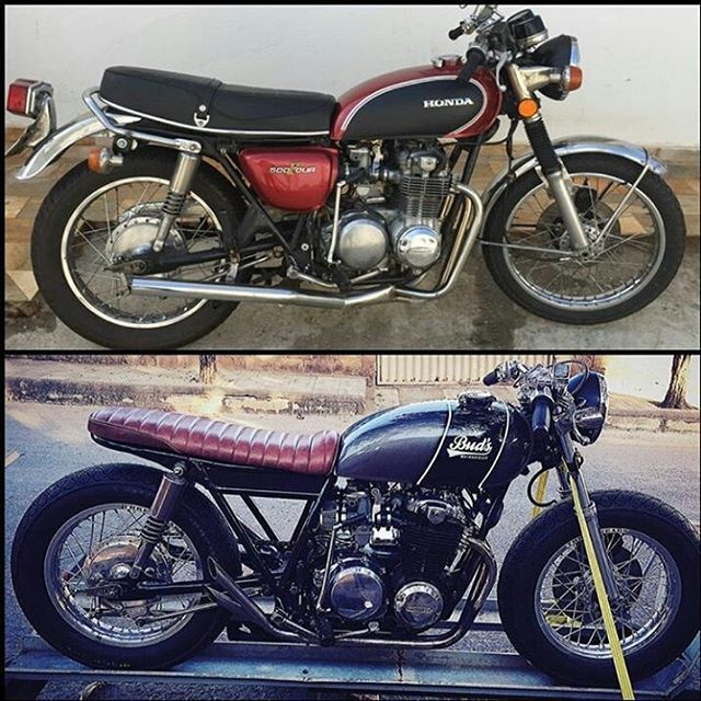 by @buds_motorcycles Before & After. #beforeandafter #before&after…