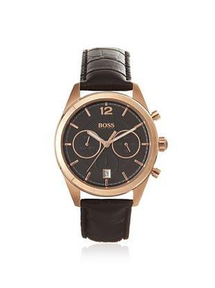 Hugo Boss Men's 1512746 Black/Rose Chronograph Watch
