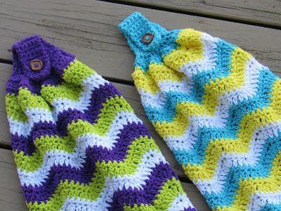 Chevron Kitchen Towel, Free Crochet Pattern   Crochet Dreamz   Bloglovin'