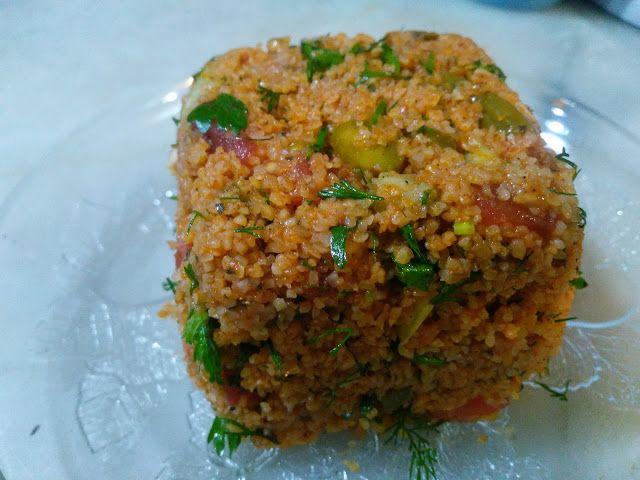 Akissmutfak: Bulguru Pişirilen Kısır